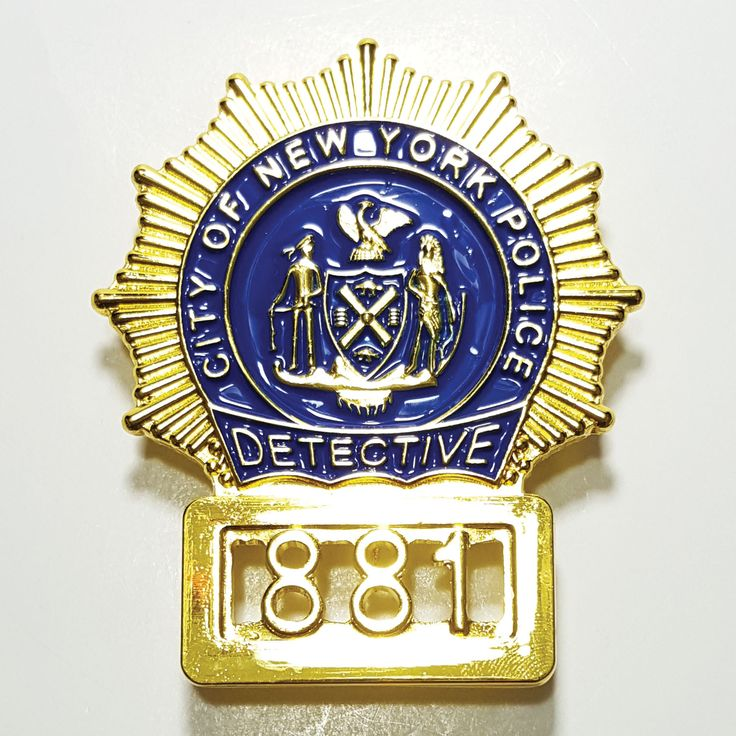 John McClane Die Hard's City of New York Police Detective 881 movie prop badge replica now on sales at www.aiizcollectibles.com. Get 50% OFF with Promo Code: BLKFRI50 this Black Friday to Cyber Monday (valid from November 24-27, 2017)
