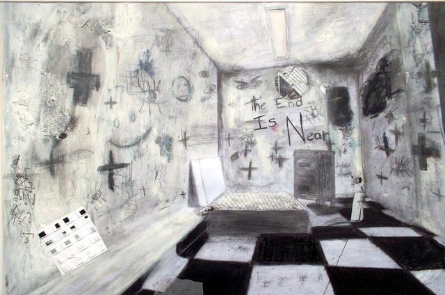 Samy Sffogia, 2014 / Pastel seco, grafite, colagem e costura sobre papel canson / 68x50cm / 6x R$300