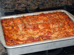 Cooking with Julian: Quick and Easy Lasagna ~ Oven Ready Noodles