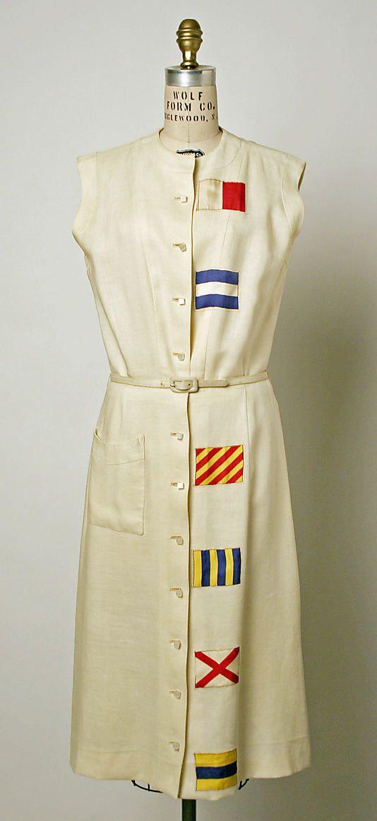 Late 1930's dress.