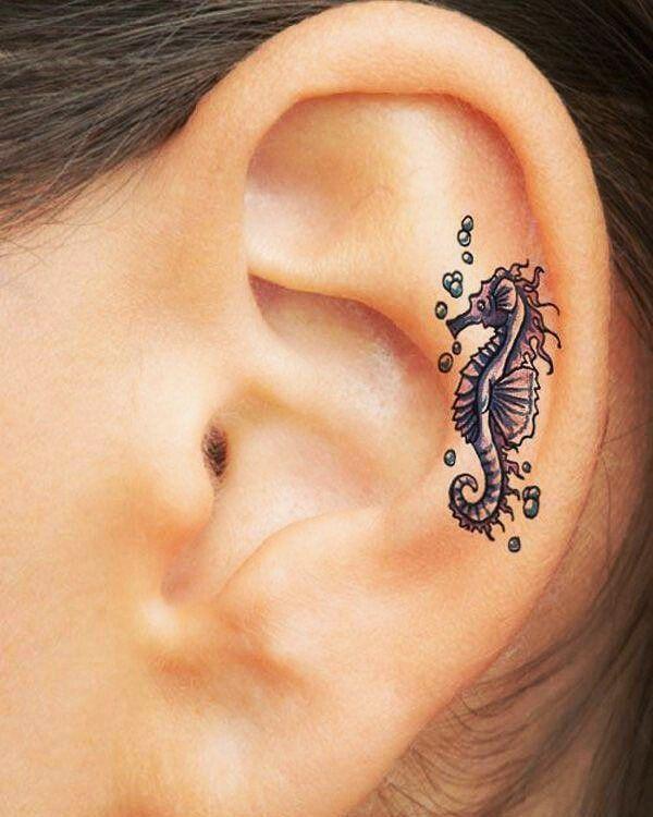#Tatuaje_tatto Caballito de mar // Seahorse  #tatto #tatuaje #Ink #amistad…