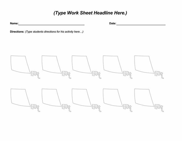 Spring kite worksheet - Templates