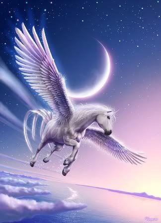 Mystical Pegasus Horse