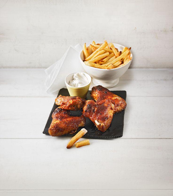 Gourmet Chicken Wings – Hähnchenflügel