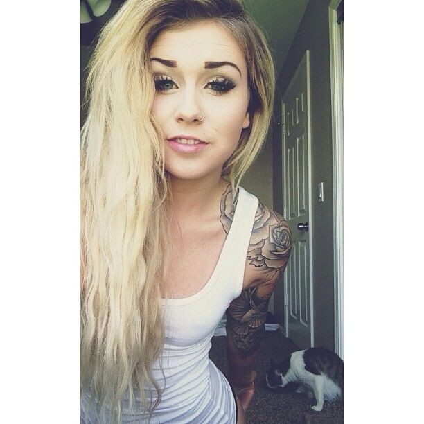 Tattoos Sleeves For Girls Tumblr