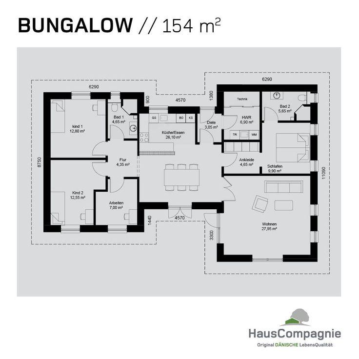 Bungalow Bauen: Bungalow Grundrisse – Bungalow Bauen Mit