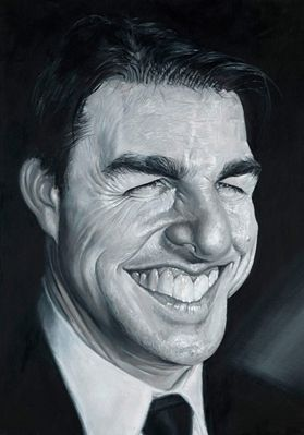 Tom Cruise by Derren Brown  - CARICATURE: http://dunway.com/