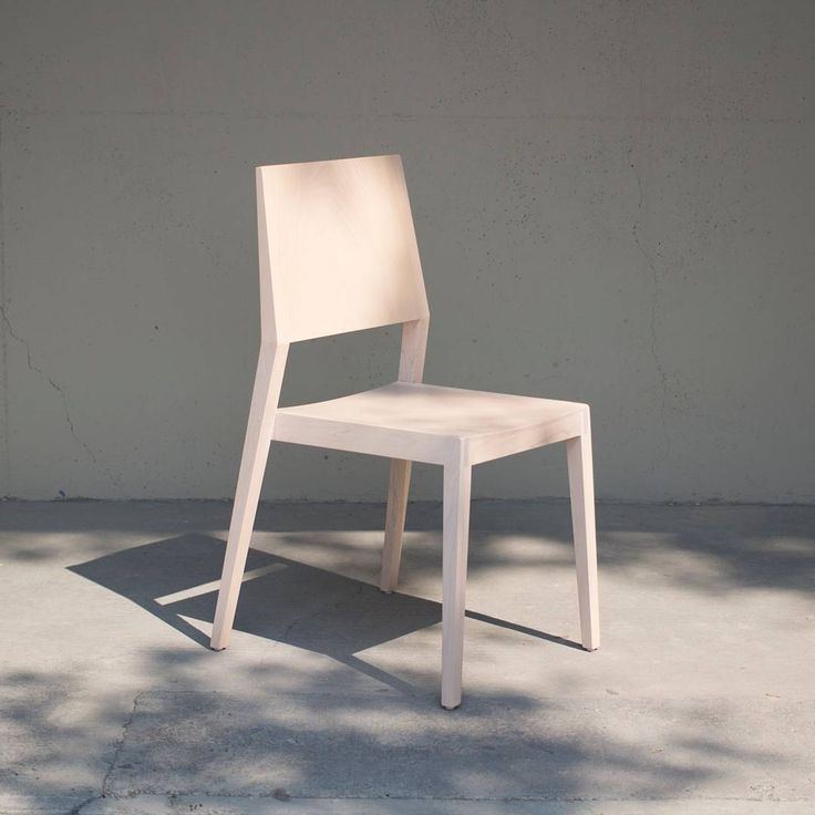 """You can't use up creativity. The more you use, the more you have."" - Maya Angelou #roombdesign  Room B's 1A Dining Chair in bleached maple."
