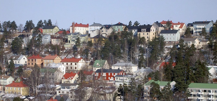 Pispala neighborhood tampere finland