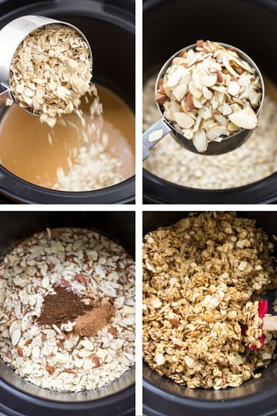For a healthy breakfast, use your KitchenAid® Multi-Cooker to make Peanut Butter Granola from Alyssa of @simplyquinoa on our blog.