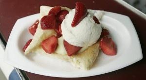 OKC Arts festival strawberries newport recipe