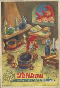 Papel secante de Pelikan: tinta estilográfica. | eBay