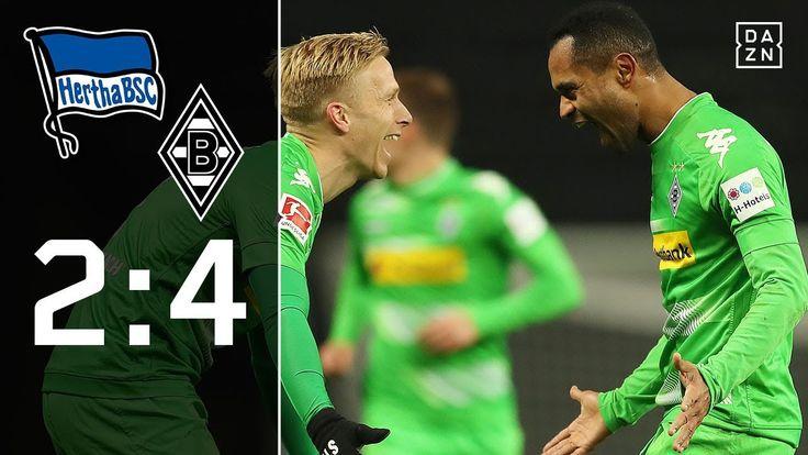 Raffael mit Traumtor: Hertha BSC - Borussia Mönchengladbach 2:4   Highli...