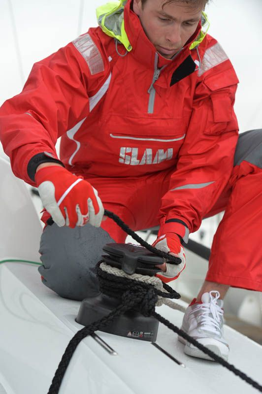 SLAM Sailing gear - oilskin -