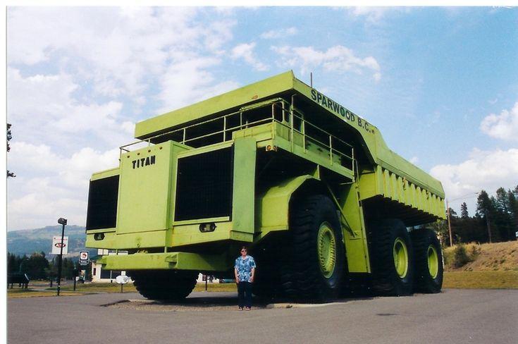 mining truck  strangevehicles.com