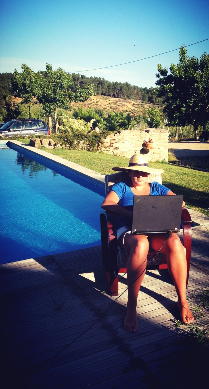 Home office! holidays To get some really cool work done! Portugal, June 2013
