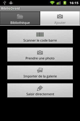 application android livres bibliodroid