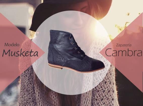 modelo Musketa 100% cuero  http://zapateriacambra.cl/