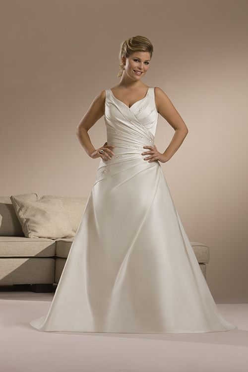 79 best fat bridal choose plus size wedding dresses images for Wedding dress for fat