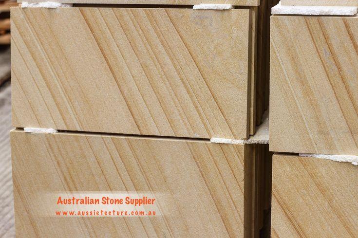 Australian sandstone paving. Australian sandstone cladding. Australian sandstone tiles. Sandstone flooring. Stepping stone. Sandstone Wall. Stone Wall. #sandstone#landscapeidea#landscapedesign#stonewall#gardendesign -Sandstone Cladding -Natural stone cladding -Exterior design -Sandstone Capping -Rockface Sandstone -Australian Sandstone -Sandstone Logs -Sandstone Retaining Wall -Sandstone Blocks -Sandstone House -Sandstone fireplace -outdoor living -outdoor design