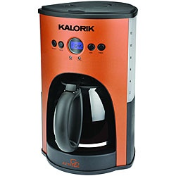 @Overstock - This gorgeous 12-cup satin copper and stainless coffee maker has a programmable clock/timer. This appliance also has a 2-hour shutoff system that will turn the coffee maker off in case you forget.http://www.overstock.com/Home-Garden/Kalorik-Aztec-Programmable-12-Cup-Coffee-Maker-Refurbished/6777305/product.html?CID=214117 $38.49