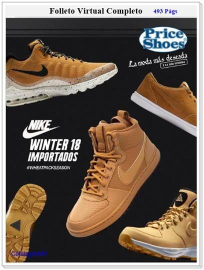 2a848f9916 Catalogo Price Shoes Importados Winter 2018 – 1E Noviembre. Calzado sport y  deportivo