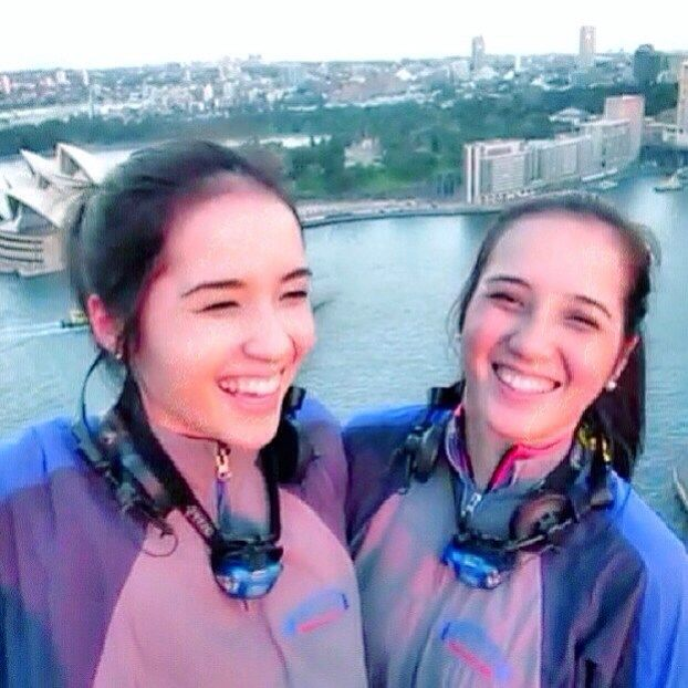 Thats me and my twin @traceyisabella !! Best time ive ever had with her climbing the sydney harbour bridge  best view ive ever seen from up there too! My sis is awesome.. She travels the worldddd and tells me all about it. On great occassions she brings me along :3 if you're not the usual traveller then you should follow her on instagram cause i swear she has such amazing pictures of views you can only dream of seeing.. And she lives in DUBAI !  so so lucky to have her  and if she wasn't…