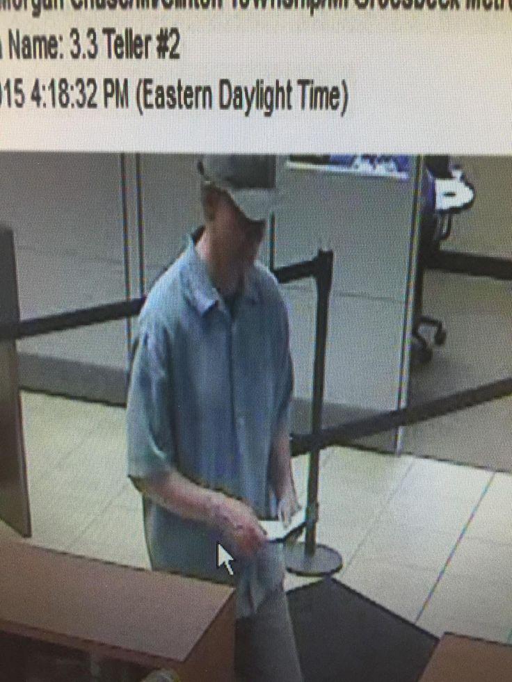 Police seek suspect in Clinton Township bank robbery - http://www.newsfrombanks.com/police-seek-suspect-in-clinton-township-bank-robbery.html