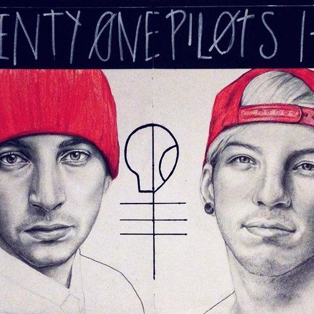 Twenty One Pilots Clique Art |-/
