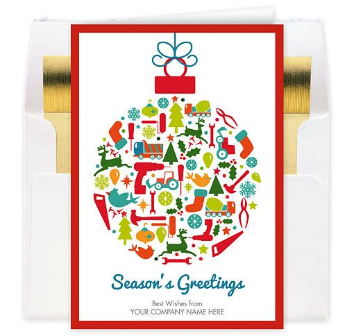 7 Best Pany Christmas Cards Images On Pinterest