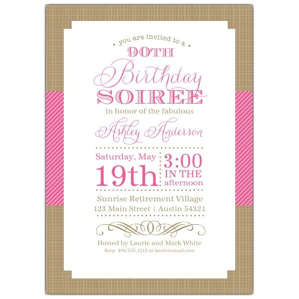 Best 25 90th birthday invitations ideas – 90th Birthday Invitation Cards