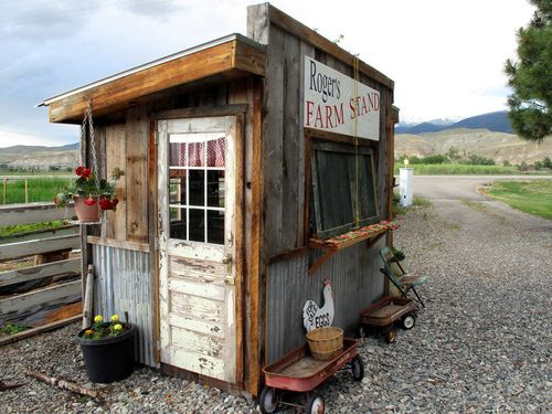 Lots of memories of stopping by roadside vegetable stands!