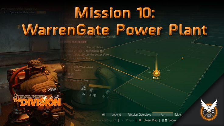 Mission 10: WarranGate Power Plant [Tech ]