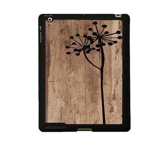 Flower iPad 4 case Floral iPad 2 case Wood by BasementTwentytwo, €17.00