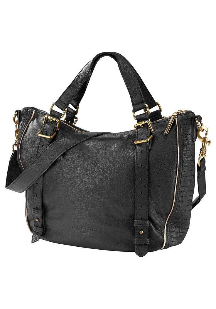 Produkttyp , Shopper, |Farbe außen , schwarz, |Materialzusammensetzung , Obermaterial: 100% Leder, |Herstellerfarbbezeichnung , black, |Verschlussart , Reißverschluss, | ...