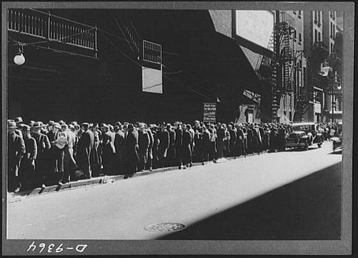 exceptional Soup Lines During The Great Depression Part - 16: Emotional Photos of the Great Depression: Soup Lines