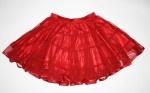 Mesh skirt, ribbon red @ H.J.O.R.T. Copenhagen