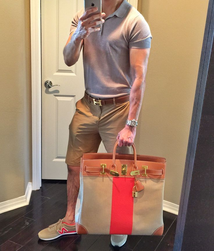 My Hermès Limited Edition HAC 50 Flag Birkin with New Balance and Gold Hardware H Belt