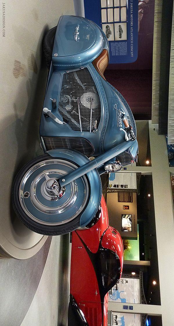 Atlantico Motorcycle Concept by Tamas Jakus