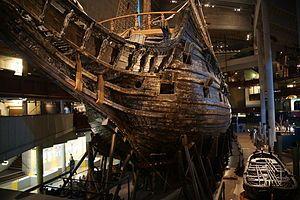 Vasa  http://en.wikipedia.org/wiki/Vasa_%28ship%29#