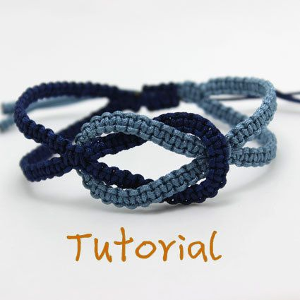 eBook (Ocean) - Tutorial to Chinese knot macrame bracelet Friendship/Wish Bracelet-Instant download Pattern- FREE SHIPPING
