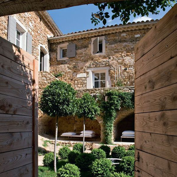 378 best dream home images on pinterest home ideas for Small french courtyard gardens