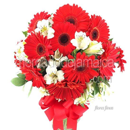 Gerberas Rojas Amaneci a Tu Lado| Envia Flores