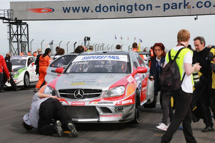 Vitantonio Liuzzi on his Official Mercedes AMG C63 Sprint Filter P08 equipped