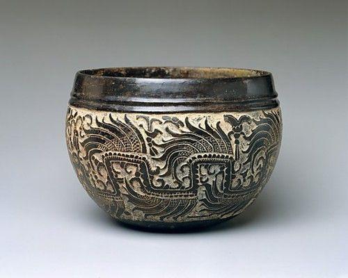 Carved Bowl  Maya, 6th century AD  The Metropolitan Museum of Art