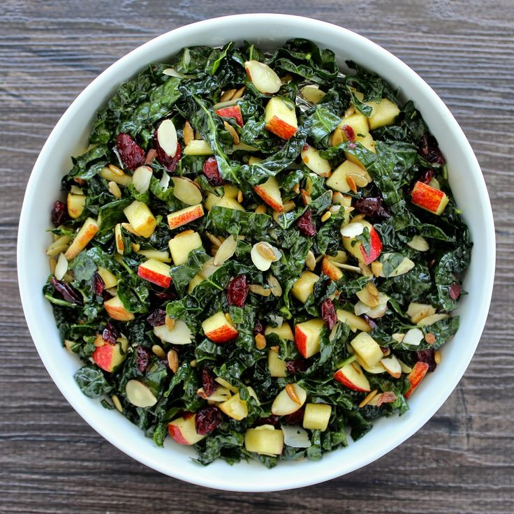 The Foodie Physician: Dining with the Doc: Tuscan Kale and Apple Salad