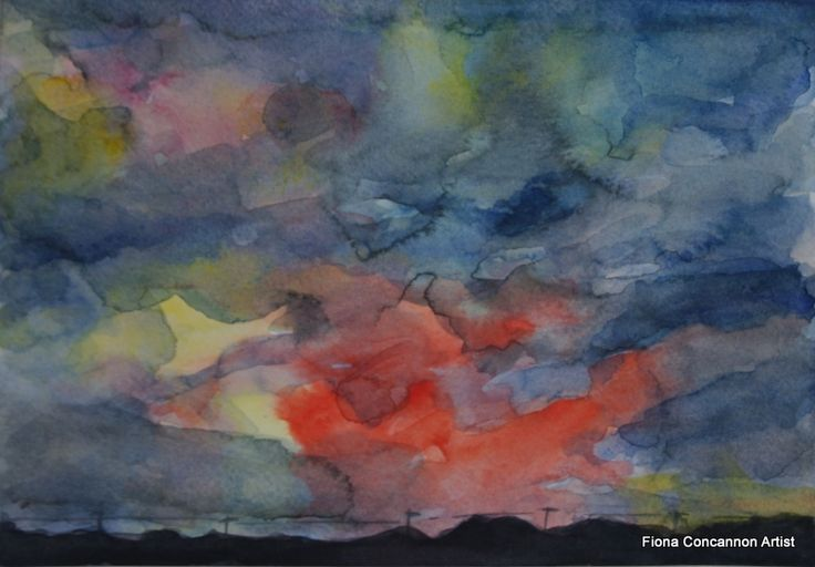 Night Approaching by Fiona Concannon on ArtClick.ie