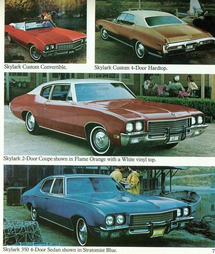 1972 Buick Skylarks