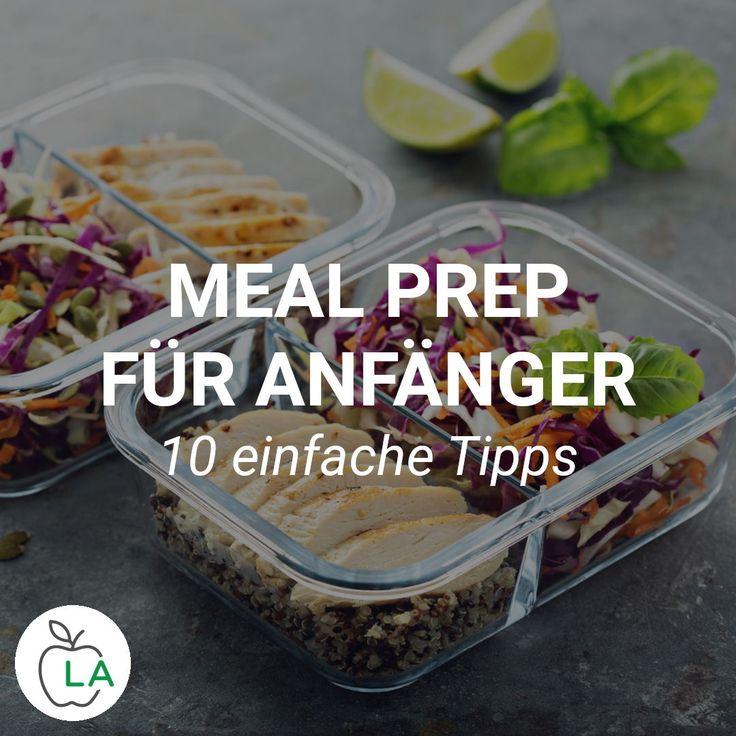 Meal Prep für Anfänger – Abnehmen und Muskeln aufbauen mit Vorkochen
