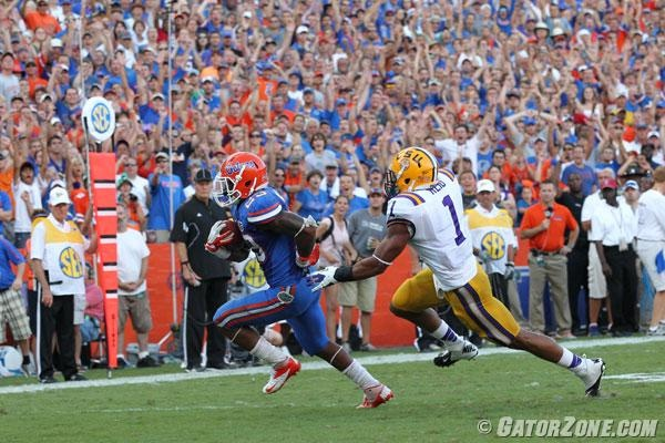 Gators vs LSU 2012